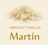 Logo Arroces y paellas Martín